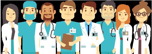 Une équipe de médecins qui s'investit dans une pratique multi-sectorielle implantée dans son milieu depuis plus de 40 ans qui a su évoluer avec les besoins de sa population.